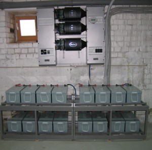 Инвертор 9kVA-800Ah
