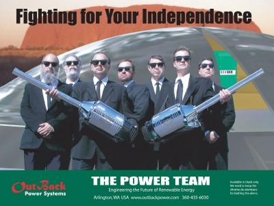 Power Team: Сражаясь за вашу независимость