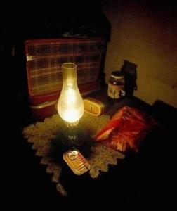 Если отключили свет